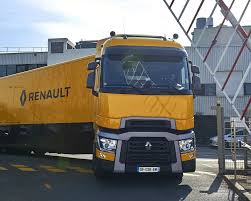 renault trucks new renault trucks for formula one team behind the wheel