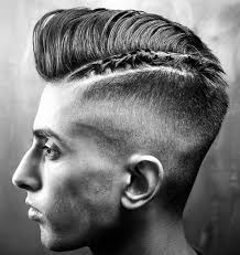 braided pompadour hairstyle pictures undercut hairstyles 2017 braided razor part with pompadour haircut