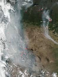 Canada Wildfire Satellite by Western Wildfires Add To Disasters The Nation Faces Will Congress