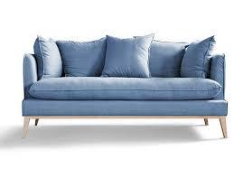 canapé bleu ciel 50 idées déco de canapé