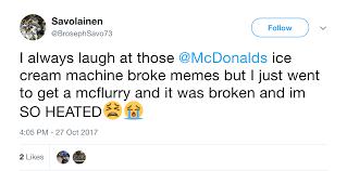 why im broke mcdonald u0027s ice cream machine always broken business insider