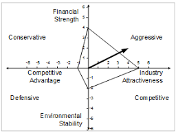 space analysis u2013 strategic position and action evaluation matrix