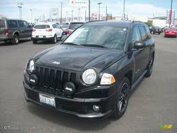 2007 black jeep compass rallye sport 4x4 50186253 photo 2