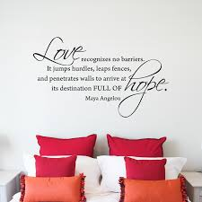 love recognizes no barriers wall quotes decal wallquotes com