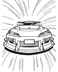 race car coloring pages for race lovers