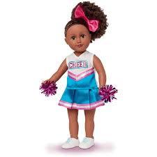 african american cheer hair bows my life as cheerleader doll 18 african american walmart com