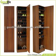 Tall Shoe Cabinet With Doors by Wood Shoe Cabinet Bar Cabinet