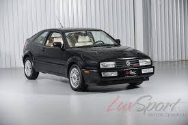 Corrado Vr6 Interior 1992 Volkswagen Corrado Slc Vr6 Coupe Slc Stock 1992114 For Sale