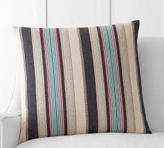 Pottery Barn Kilim Pillow Cover Madrid Stripe Pillow Cover Pottery Barn