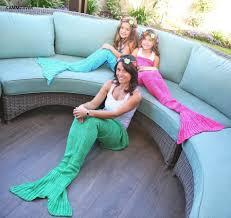aliexpress com buy cammitever 4 sizes yarn knitted mermaid tail