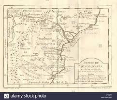 Zimbabwe Map Empire Du Monomotapa U0027 Mutapa Mozambique Zimbabwe Bellin 1758
