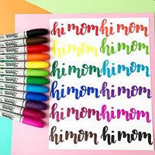 permanent markers sharpie