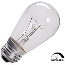 pack of 18 commercial grade 11 watt s14 replacement incandescent