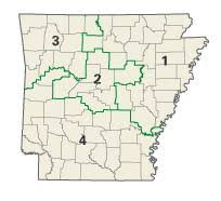 me a map of arkansas politics and government of arkansas