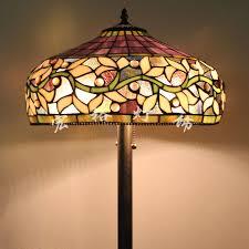 Yellow Floor Lamp Shade Glass Floor Lamp Shades The Aquaria