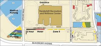 parking facilities vanderbilt recreation and wellness center