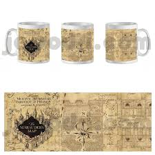 Harry Potter Marauders Map Detalles De Taza Mug Hogwarts Harry Escuela Potter Mapa