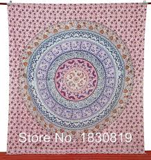 indian decorations for home bed sheet indian mandala tapestry kaleidoscopic bohemian