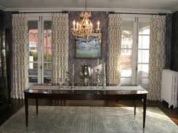Dining Room Drapes How To Design Drapes Using Patterned Fabric Historic Springfield