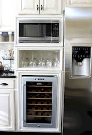 Microwave In Island In Kitchen Best 25 Built In Microwave Ideas On Pinterest Microwave Above