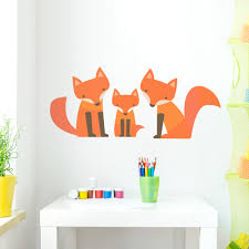family printed wall decal