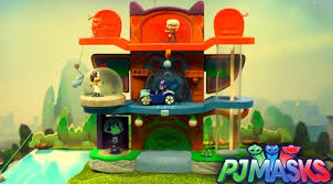 pj masks toy showcase u2013 hq headquarters lair family gamer tv
