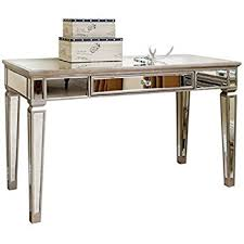 Registry Row Desk Amazon Com Office Star Helena Writing Desk With Mirror Accent