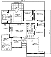 european style house plan 4 beds 2 00 baths 1950 sq ft plan 17 1089