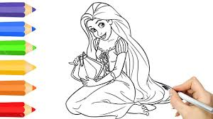 disney princess coloring pages u0026 drawing children