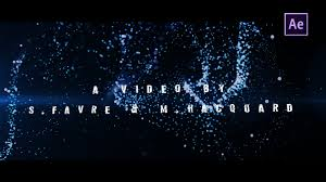 fr en free after effects credits outro template trapcode form