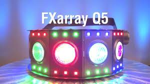 chauvet dj fxarray q5 effect light namm 2017 chauvet fxarray q5 youtube