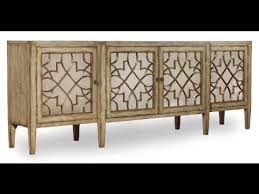 sanctuary 4 drawer console table sanctuary mirrored 4 door console by hooker furniture home gallery