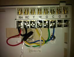 new smart thermostat rheem heat pump thermostat wiring diagram