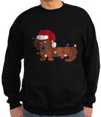 sweater with dogs on it dachshund sweater