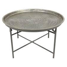 furniture metal round coffee table ideas round modern coffee