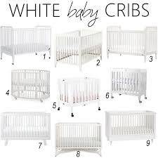Crib White Convertible by White Crib For Baby Creative Ideas Of Baby Cribs