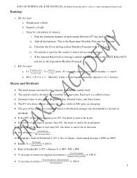 icse mathematics formulae sheet