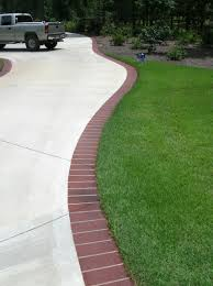 plastic garden edging ideas brick brick edging for the driveway outdoor living spaces pinterest