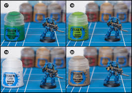 tutorial how to paint ultramarines as seen in white dwarf tale