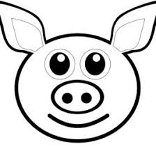 Pig Head Coloring Page Kids Drawing And Coloring Pages Marisa Pig Coloring Pages