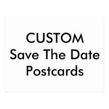 Save The Date Wedding Cards Custom Save The Date Postcards Zazzle Co Uk