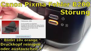 reset pixma ix6560 canon pixma b200 error fehler beheben fix english subtitles