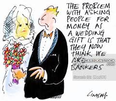 wedding gift jokes wedding gift and comics pictures from cartoonstock