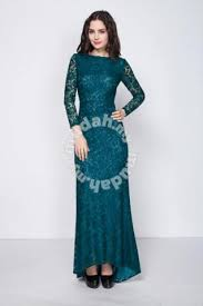 3 colors sleeve neck lace dinner dress clothes for