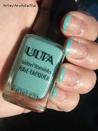 fresh nails mint tips u0026 sparkle artsyarchitette