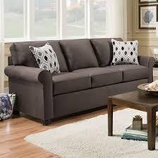 Upholstery Warehouse Simmons Upholstery 1530 Queen Sleeper Sofa Smoke Abc Warehouse