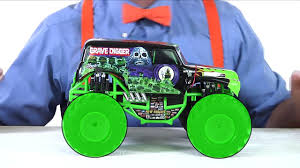 monster truck toy videos learn colors tractor for kids and spiderman cartoon on colors