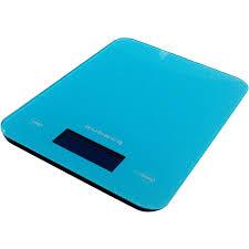 balance de cuisine aubecq aubecq balance de cuisine électronique 5kg 1g bleu 001007