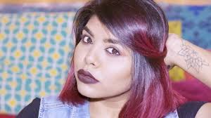 Colour Style by How To Colour And Style Hair Ombre At Home For Indian Skin