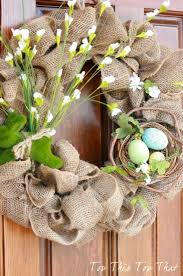 how to make easter wreaths make a wreath for lots of ideas its overflowing